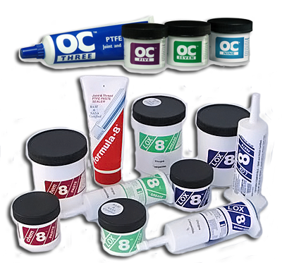 Oxygen Compatible Thread Sealants