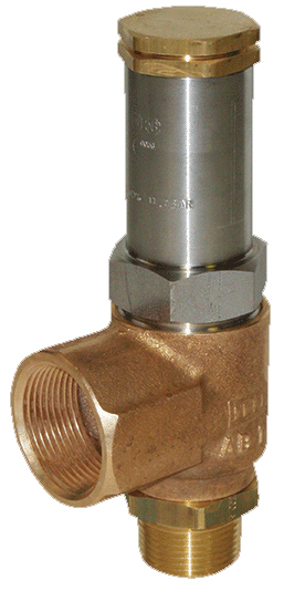 AR Series - LNG Angle Pressure Relief Valves
