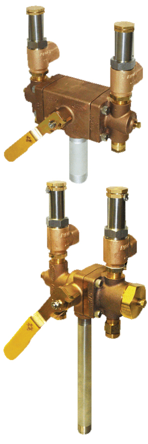 DA Series - Bulk Vessel Safety Assembly  Relief Valve, Diverter &  Burst Disk