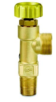AV Series - Small Cylinder Acetylene Handwheel-Operated Valves