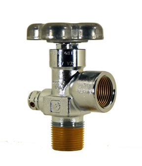 GV Series - Tapered Thread, Chrome Plated