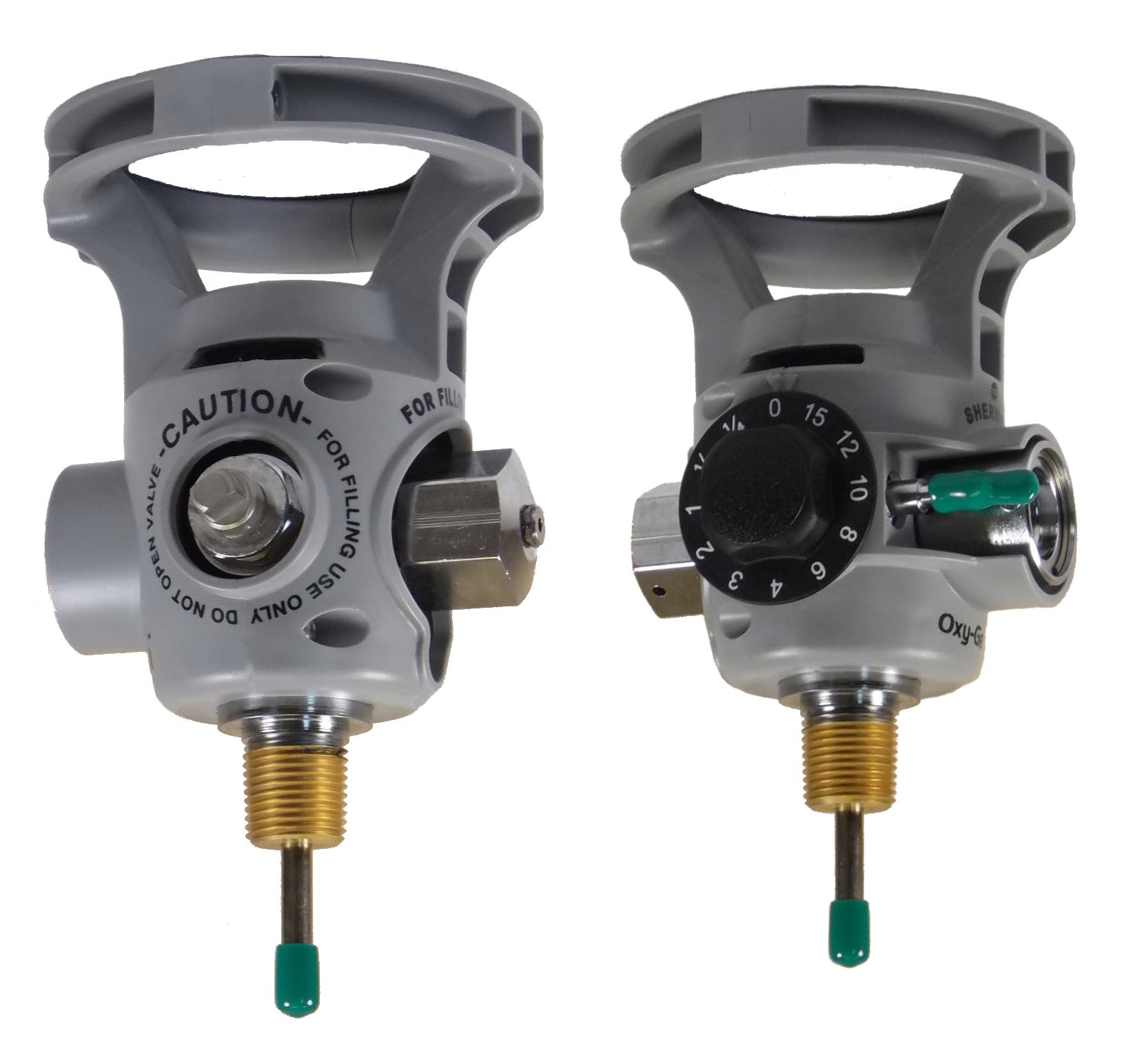OxyGen 1 Series - Oxygen Valves with Integrated Pressure Regulars