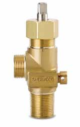 1214Y Series - Wrench-Operated, Corrosive Gas Valves