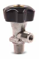 6411 Series - Diaphragm Packless - Lecture Bottle Valves