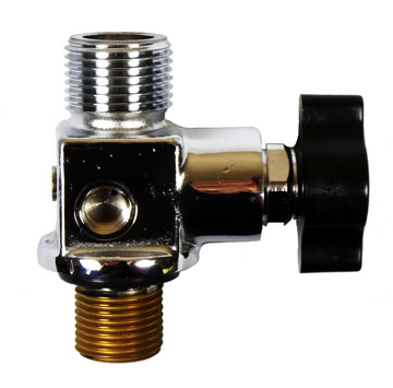 Oxygen Valves - YVBA Series, Vertical Outlet Valves