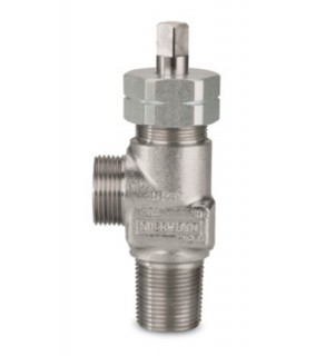 "303 SS vlv; CGA 240/705; 3/4""-14NGT; 1/4""inlet tap;no PRD;Teflon"