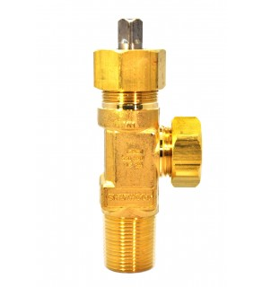 """3/4""""-14 NGT-CL Ton Container Valve"""