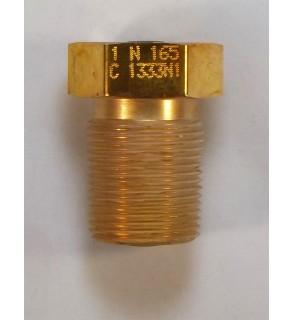 """3/4"""";158-165 F; Naval Brass"""