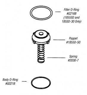 Replacement Kit - 1855 Series Filler Valve
