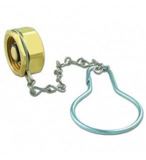 Plug & Chain  - 1 Piece Assembly - with Chain
