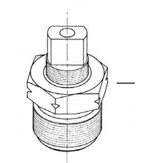 Replacement Parts - Bonnet Assembly for LP Gas Cylinder Valves