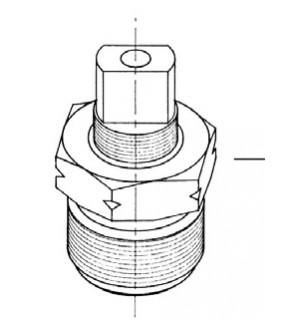 Replacement Parts Kit - Bonnet Assembly for LP Gas Cylinder 3329 Valve