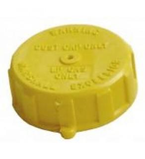 "1-3/4""  F.  Acme Cap - Yellow Plastic - 1850-3"