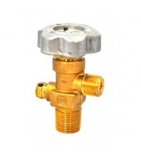 Sherwood Brass Diaphragm Packless CGA 320 outlet, 3/4, 3360 PSI pressure relief device