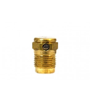 Plated GVH Style Plug Pressure Relief Device (PRD); CG1; Nickel Plated Disc; 9000 PSI