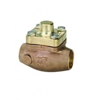 "Check Valve 1.629"" - 1.631"" Sweat End"