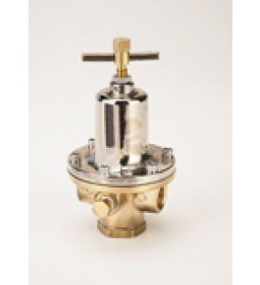 "Regulator HD Brass Final Line Pressure, 40 - 110 PSIG, 1"" NPT"