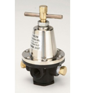 "Regulator, Aluminum Pressure, 5  - 50 PSIG, Without Gauge, 1"" NPT"