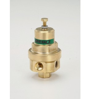 Regulator, Combination Pressure Build/Economizer Pre-Set to 325 PSIG Chart