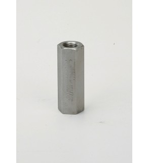 "Check Valve Stainless Steel, 1/2"" F.NPT Soft Seat, 3000 PSIG"