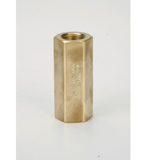 "Check Valve Stainless Steel, 1/2"" F.NPT Metal Seat, 3000 PSIG"