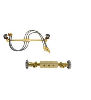 Cradle Pack Manifolds for 6, 12 & 16 Cylinder Carts/Pallet Packs