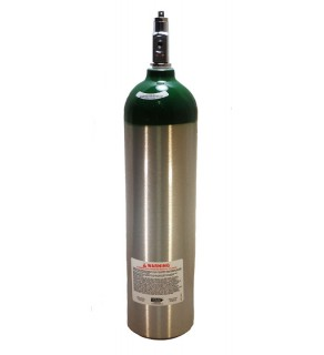 Medical Oxygen with post valve - 15 cu ft
