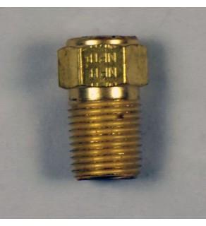 "1/8 NPTF; CG3 212; Brass; length .78"""