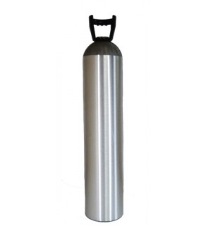122 Cubic Foot Cylinder with Carry Handle, No Valve