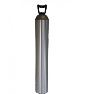 Industrial Gas Cylinder no valve inserted - 150 cu ft