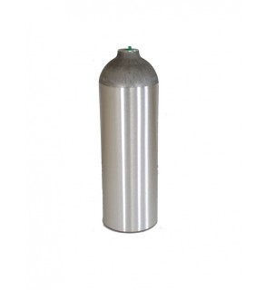 Industrial Gas Cylinder no valve inserted - 22 cu ft