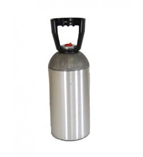 Industrial Gas Cylinder no valve inserted - 33.7 cu ft