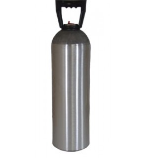 60 Cubic Foot Cylinder with Carry Handle, No Valve