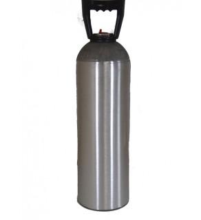 Industrial Gas Cylinder no valve inserted - 60 cu ft