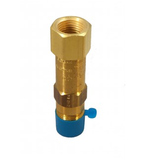 "1/2"" NPT Settings to 100 PSIG  Fluorosilicone Seat, without Drain Hole, with Pipe Away"