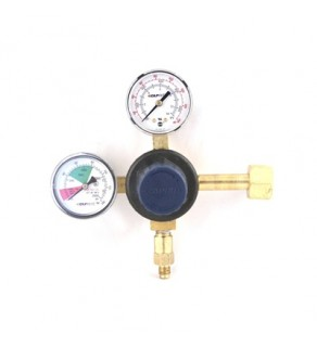 Taprite, CO2 SODA REGULATOR, 1P1P, CGA 320, 0-120 PSI