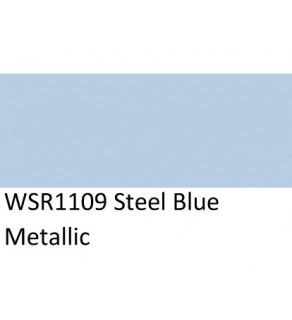 5 GALLON STEEL BLUE METALLIC