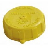 "1-3/4""  F.  Acme Cap - Yellow Plastic - 1850-3"