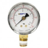 "Taprite, Pressure Gauge, 0-60 PSI, 1/4"" NPT Bottom Inlet, Right Hand Threads"