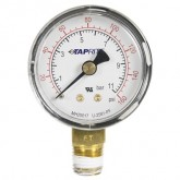 "Taprite, Pressure Gauge, 0-160 PSI, 1/4"" NPT Bottom Inlet, Right Hand Threads"
