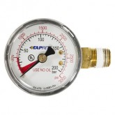 "Taprite, Pressure Gauge, 0-3000 PSI, 1/4"" NPT, Left Hand Threads"