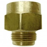 "Female Transfer Valve Adapter, 3/4"" FNPTx3/4"" MNPT - Brass - PA5133"