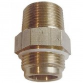 "MaleTransfer Valve Adapter, 3/4"" MNPTx3/4"" MNPT - Brass - PA5133M"