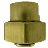 "Liquid Evacuation Coupling, 3/4"" FNPTx1-5/8"" UNS Female - Brass - PA5138"