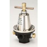 "Regulator, Aluminum Pressure, 100 - 250 PSIG, Without Gauge, 1/4"" NPT"