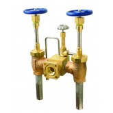 Cryogenic Bulk Fill, Bronze, Bolted Bonnet, Copper 1-1/2""