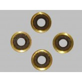 Brass and Viton Washer