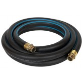"CO2 Liquid/Vapor 450 psi. 1 in I.D. Polar Hose, Brass, 1"" Female NPT E/E."