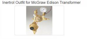 Inertrol Outfit for McGraw Edison Transformer